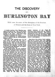The discovery of Burlington Bay by Benjamin Ernest Charlton