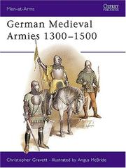 Cover of: German Medieval Armies 1300-1500
