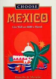 Cover of: Choose Mexico | Howells, John