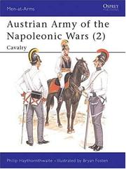 Cover of: Austrian Army of the Napoleonic Wars (2): Cavalry
