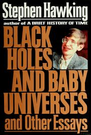 Cover of: Black holes and baby universes and other essays