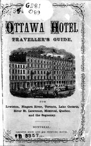 Cover of: Ottawa Hotel traveller