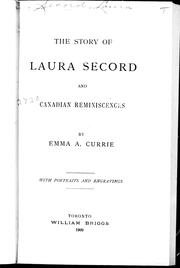 Cover of: The story of Laura Secord |