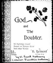 Cover of: God and the doubter | Hatheway W. Frank