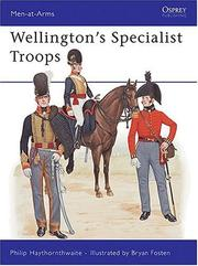 Cover of: Wellington's Specialist Troops