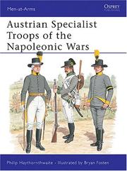 Cover of: Austrian Specialist Troops of the Napoleonic Wars
