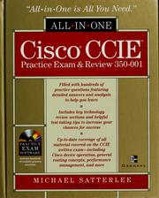 Cover of: Cisco CCIE practice exam & review 350-001 | Michael Satterlee