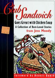 Cover of: Club sandwich | Jess Moody