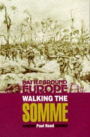 Cover of: WALKING THE SOMME | Paul Reed