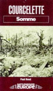 Cover of: Courcelette | Reed, Paul