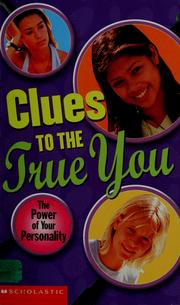Cover of: Clues to the true you | Julia Marsden