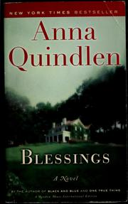 Cover of: Blessings | Anna Quindlen