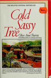 Cover of: Cold Sassy tree | Olive Ann Burns