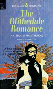 Cover of: The Blithedale romance