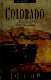 Cover of: Colorado | Rosey Dow