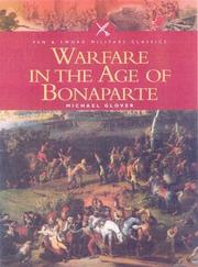 Cover of: Warfare in the age of Bonaparte | Glover, Michael