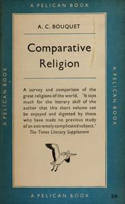 Cover of: Comparative religion | Alan Coates Bouquet