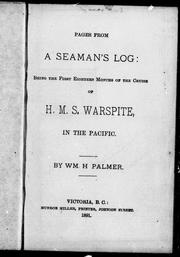 Cover of: Pages from a seaman's log | William H. Palmer