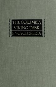 Cover of: The Columbia-Viking desk encyclopedia |