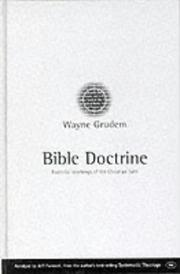 Cover of: Bible Doctrine