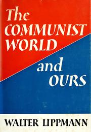 Cover of: The Communist world and ours