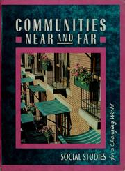 Cover of: Communities near and far |