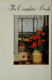Cover of: The complete book of flower arrangement by F. F. Rockwell