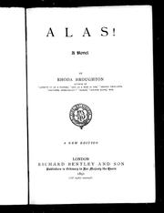 Cover of: Alas! |