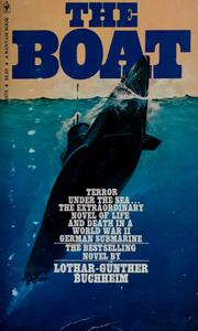 Cover of: The boat | Lothar Günther Buchheim