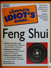 Cover of: The complete idiot's guide to feng shui | Elizabeth Moran