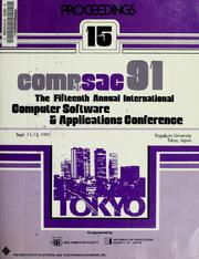 Cover of: COMPSAC 91 | COMPSAC (15th 1991 Tokyo, Japan)