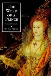 Cover of: The word of a prince