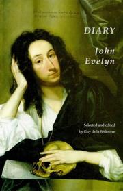 Cover of: The Diary of John Evelyn (First Person Singular) | John Evelyn