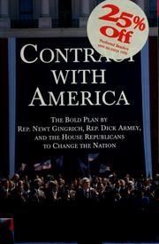 Cover of: Contract with America |