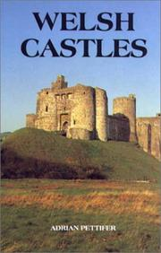 Cover of: Welsh castles