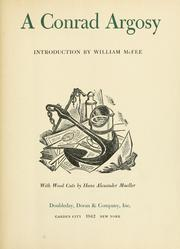 Cover of: A Conrad argosy: Introd. by William McFee, with wood cuts by Hans Alexander Mueller.