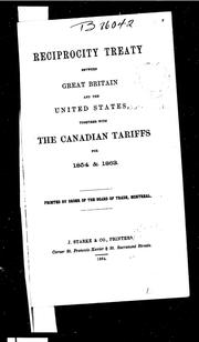 reciprocity treaty essay Reciprocity has been formalized in the treaties membership  ical economy of  international trade: essays in honor robert e baldwin, 90-107  cambridge.