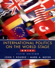 Cover of: International politics on the world stage, brief