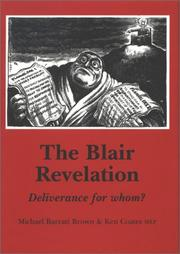 Cover of: The Blair Revelation | Barratt Brown, Michael.