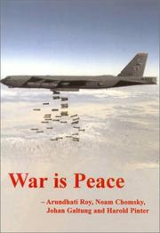 Cover of: War Is Peace (The Spokesman, 73) | Arundhati Roy