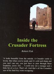 Cover of: Inside the Crusader Fortress (Spokesman)