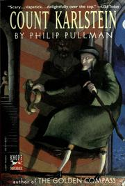 Cover of: Count Karlstein by Philip Pullman