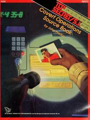 Cover of: Covert operations source book | John Prados