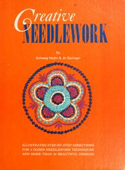 Cover of: Creative needlework by Solweig Hedin