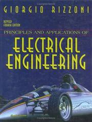Cover of: Principles and Applications of Electrical Engineering | Giorgio Rizzoni