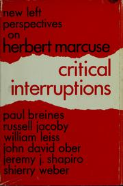 Cover of: Critical interruptions |