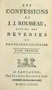 jean jacques rousseau s the confessions a review Read confessions by jean-jacques rousseau with rakuten kobo 'no one can write a man's life except himself' in his confessions jean-jacques rousseau tells the story of his life, fr.