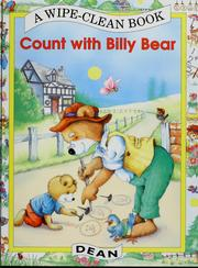 Cover of: Count with Billy Bear |