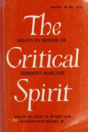 The Critical spirit by