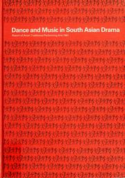Cover of: Dance and music in South Asian drama | Asian Traditional Performing Arts (3rd 1981)